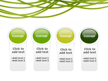 Green Fibers PowerPoint Template Slide 5