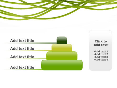 Green Fibers PowerPoint Template Slide 8