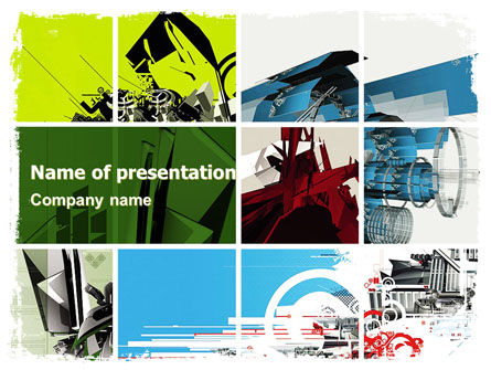 Abstract Design PowerPoint Template