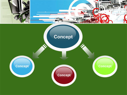 Abstract Design PowerPoint Template Slide 4