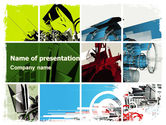 Technology and Science: Abstract Design PowerPoint Template #05556