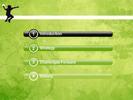 Playing Ball PowerPoint Template, Slide 3, 05559, Sports — PoweredTemplate.com