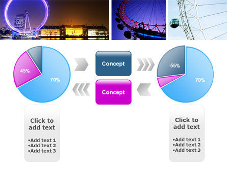 Millennium Wheel PowerPoint Template Slide 11