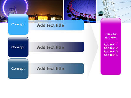 Millennium Wheel PowerPoint Template Slide 12