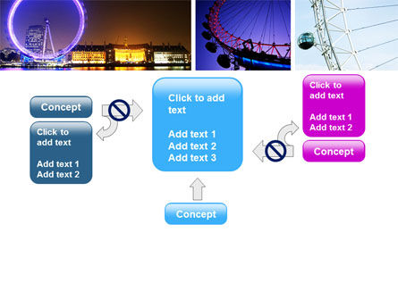 Millennium Wheel PowerPoint Template Slide 13