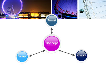 Millennium Wheel PowerPoint Template Slide 14