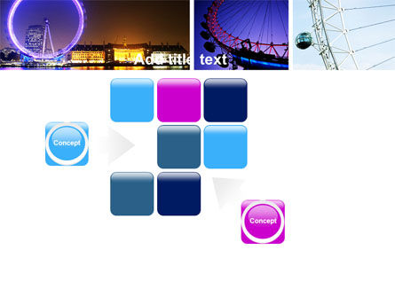 Millennium Wheel PowerPoint Template Slide 16