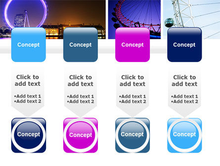 Millennium Wheel PowerPoint Template Slide 18