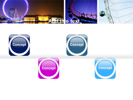 Millennium Wheel PowerPoint Template Slide 19