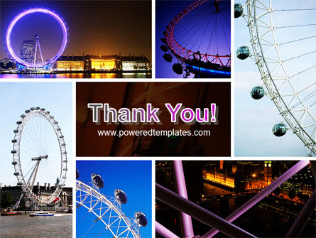 Millennium Wheel PowerPoint Template Slide 20