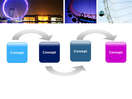 Millennium Wheel PowerPoint Template Slide 4