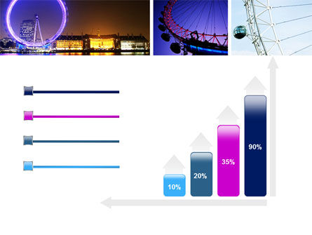 Millennium Wheel PowerPoint Template Slide 8