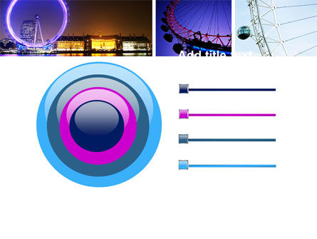 Millennium Wheel PowerPoint Template Slide 9