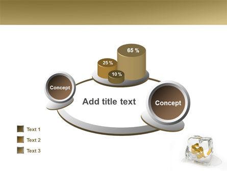 Frozen Dollar PowerPoint Template Slide 16