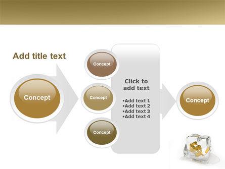 Frozen Dollar PowerPoint Template Slide 17