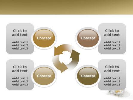 Frozen Dollar PowerPoint Template Slide 9