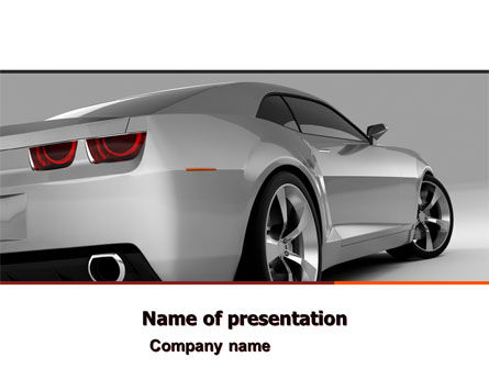 Cars and Transportation: Car PowerPoint Template #05566