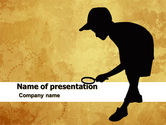 Education & Training: Young Explorer PowerPoint Template #05570