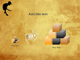 Young Explorer PowerPoint Template#13