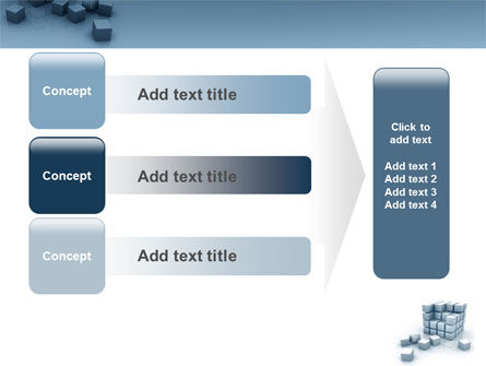 Cube PowerPoint Template Slide 12