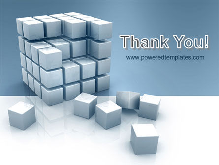 Cube PowerPoint Template Slide 20
