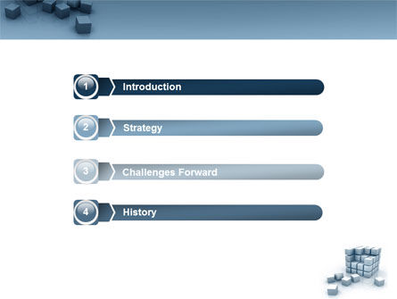 Cube PowerPoint Template Slide 3