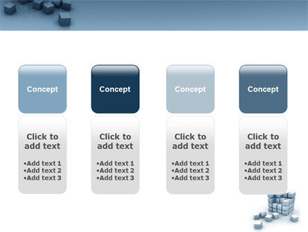 Cube PowerPoint Template Slide 5