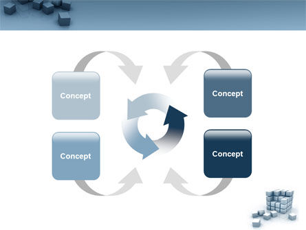 Cube PowerPoint Template Slide 6