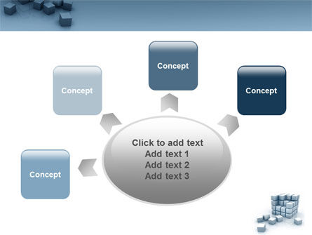 Cube PowerPoint Template Slide 7