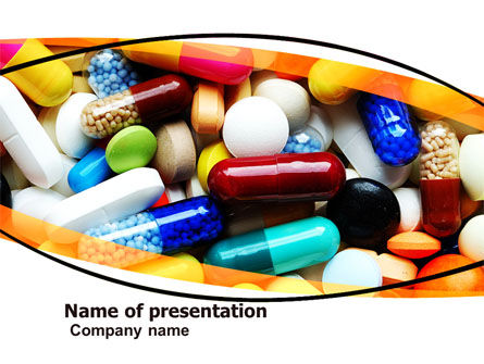 Medical: Drug Treatment PowerPoint Template #05572