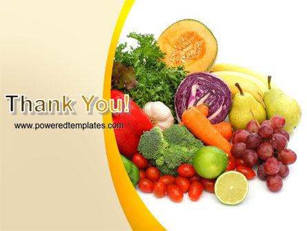 Fruits and Vegetables PowerPoint Template Slide 20