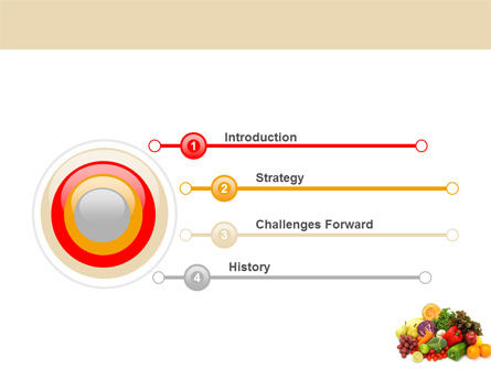 Fruits and Vegetables PowerPoint Template Slide 3