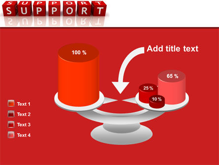 Support PowerPoint Template Slide 10
