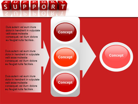 Support PowerPoint Template Slide 11