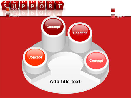 Support PowerPoint Template Slide 12
