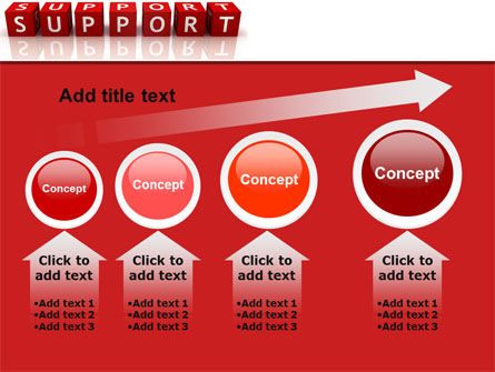 Support PowerPoint Template Slide 13