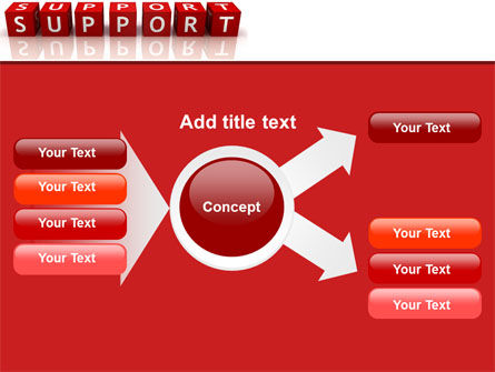 Support PowerPoint Template Slide 14