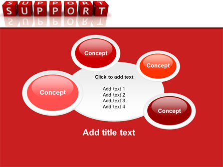 Support PowerPoint Template Slide 16