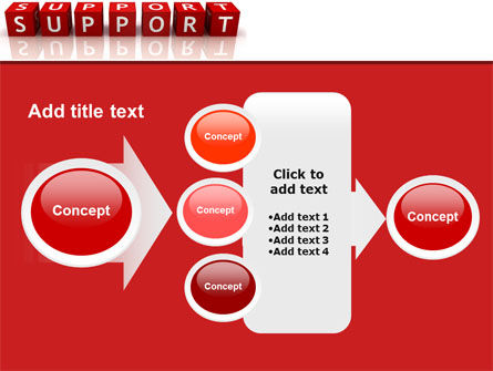 Support PowerPoint Template Slide 17