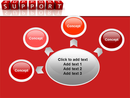 Support PowerPoint Template Slide 7