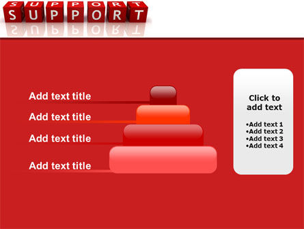 Support PowerPoint Template Slide 8