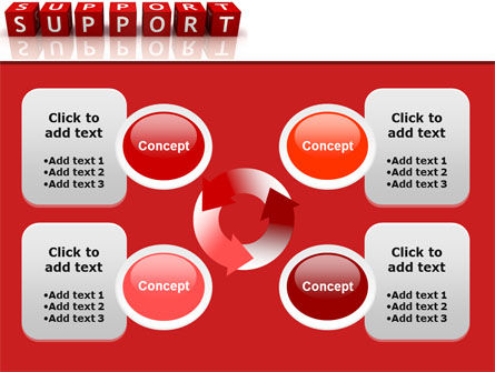 Support PowerPoint Template Slide 9