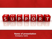Careers/Industry: Support PowerPoint Template #05580