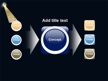 Stairway To Heaven PowerPoint Template Slide 17