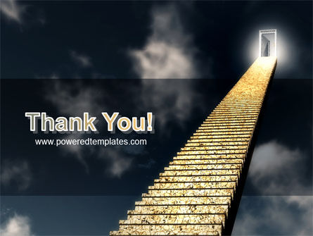 Stairway To Heaven PowerPoint Template Slide 20