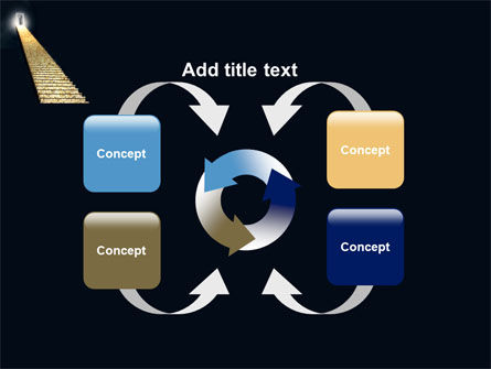 Stairway To Heaven PowerPoint Template Slide 6