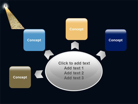 Stairway To Heaven PowerPoint Template Slide 7