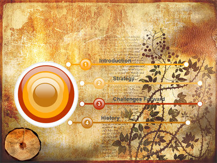 Growth Rings PowerPoint Template, Slide 3, 05582, Careers/Industry — PoweredTemplate.com