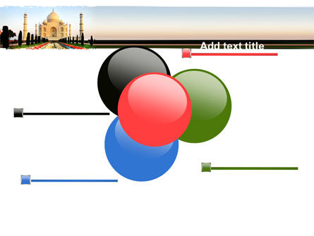 Taj Mahal PowerPoint Template Slide 10