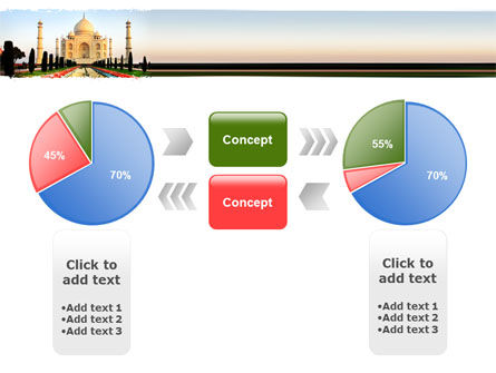 Taj Mahal PowerPoint Template Slide 11